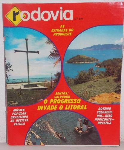 revista rodovia nº 294 janeiro e fevereiro 1972