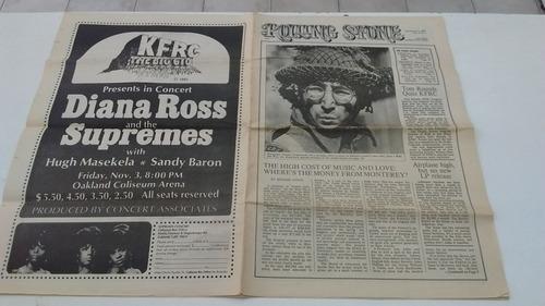 revista rolling stone 1967 volumen 1 numero 1