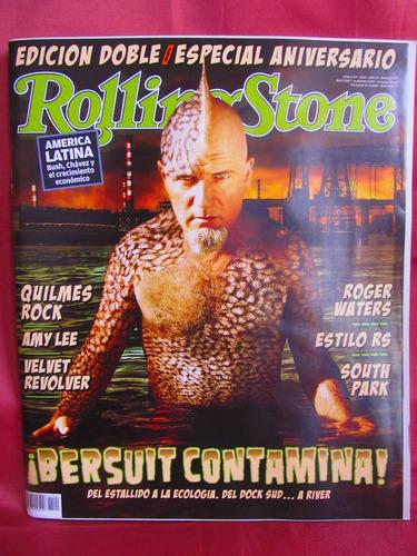 revista rolling stone bersuit contamina nro 109