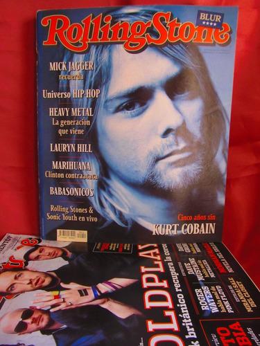 revista rolling stone cinco años sin kurt cobain