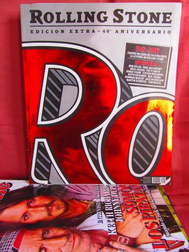revista rolling stone edicion extra 40 aniversario