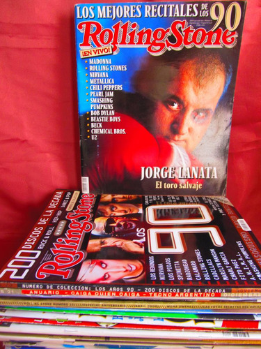 revista rolling stone jorge lanata el toro salvaje nro 19
