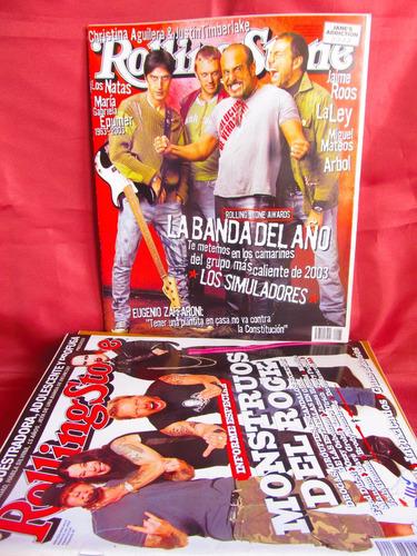 revista rolling stone la banda del año los simuladores nr 65