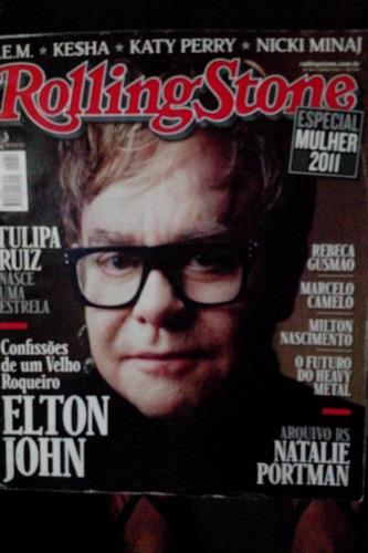 revista rolling stone nº 54 capa elton john