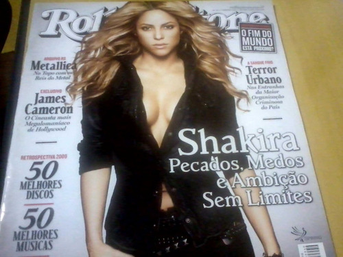 revista rolling stone nº40 jan10 shakira