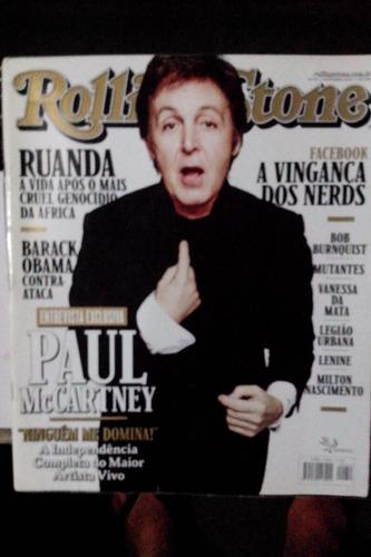 revista rolling stone nº50  capa  paul mac cartney