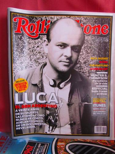 revista rolling stone nro 116 luca el gen argentino