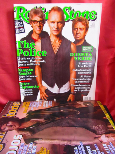 revista rolling stone the police nro 112