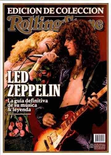 revista rolling stones edición especial led zeppelin