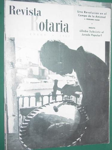 revista rotaria antigua rotary club internacional ene/52