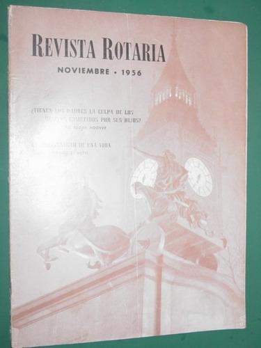revista rotaria rotary club internacional antigua nov/56