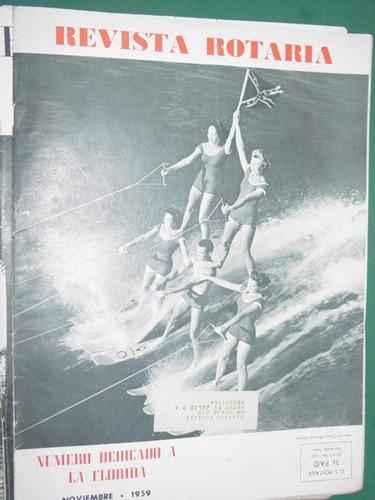 revista rotaria rotary club internacional antigua nov/59