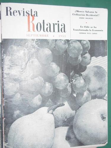revista rotaria rotary club internacional antigua sep/53