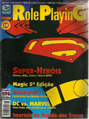 revista rpg role playing n° 6