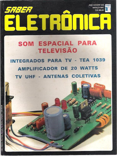revista saber eletrônica nº 218