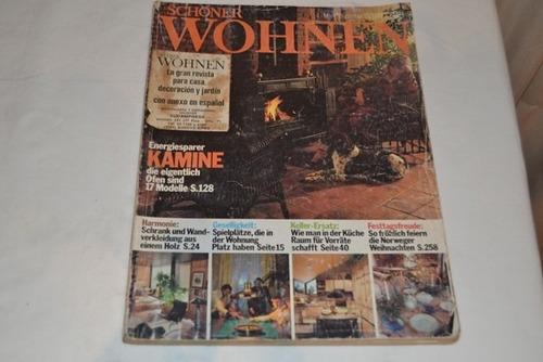 revista schoener wohnen aleman decoracion dic 79