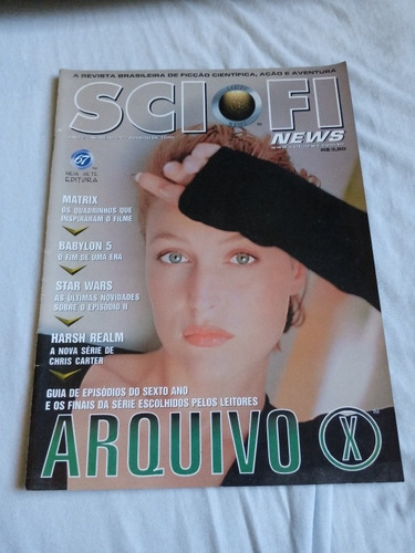 revista sci fi news. ano 2 n24 08/99