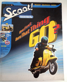 Revista Scoot - How Fast Does That Thing Go - Vespa Mod
