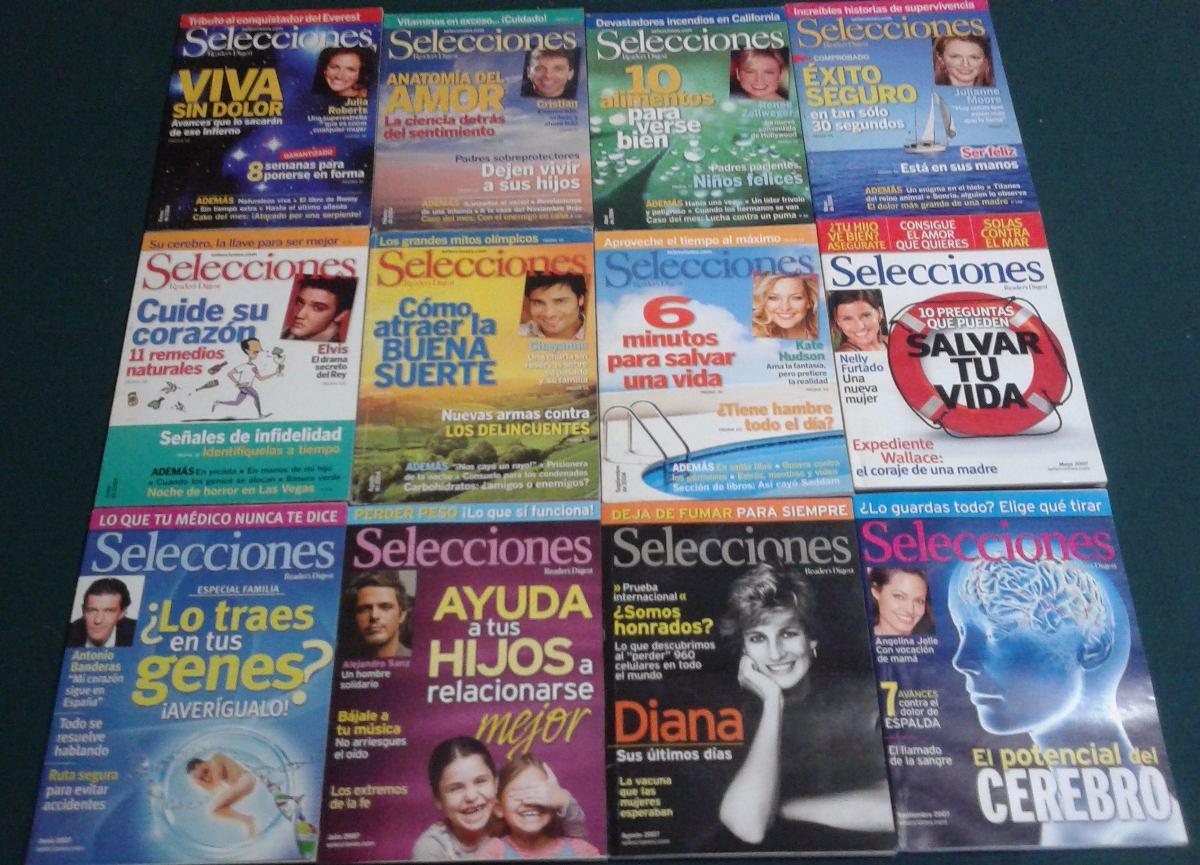 Revista Selecciones 2004-2007, Paquete Con 12 Revistas - $ 300.00 en ...