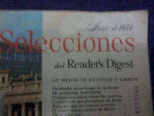 revista selecciones junio de 1954