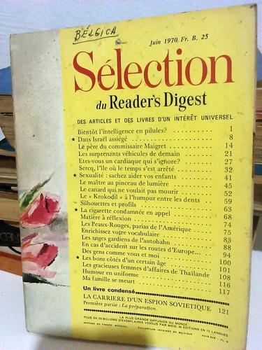 revista seleções - importada - bélgica - 1970 - frete grátis
