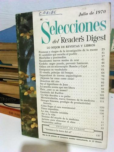 revista seleções - importada - caribe - 1970 - frete grátis