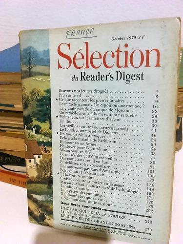 revista seleções - importada - frança - 1970 - frete grátis