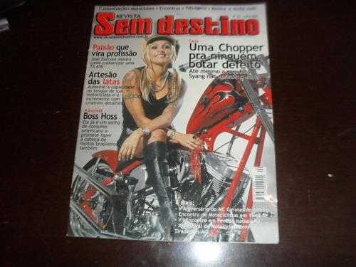 revista sem destino moto julho 2003