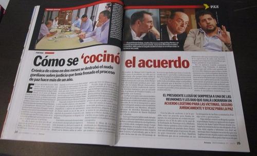 revista semana 2015 haciendo historia proceso paz colombia