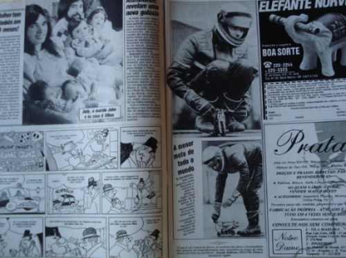 revista semanário 15 - 1988 - neyde a xuxa dos anos dourados