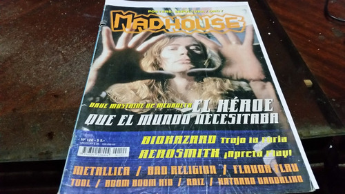 revista sepultura 120 dave mustaine sin poster