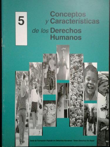 revista serie de formación en derechos humanos tener derecho