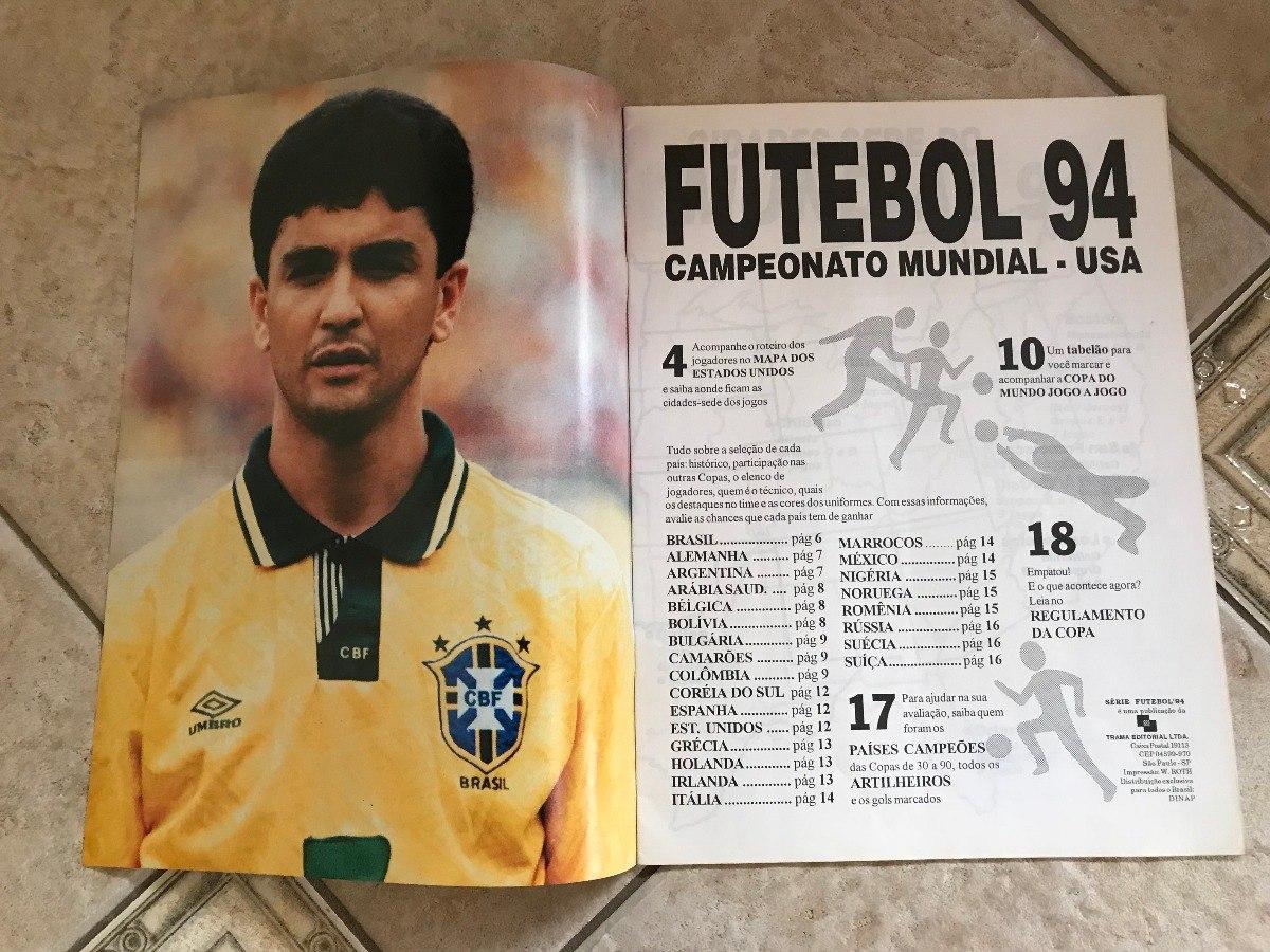 e9de1ffcbbf6e revista série futebol 94 campeonato mundial usa. Carregando zoom.