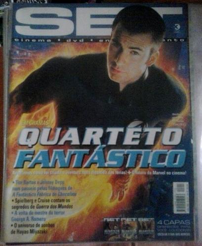 revista set - julho 2005 ed. 217 - ano 18 4 capas diferentes