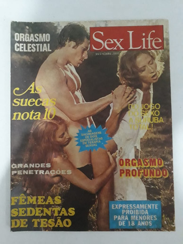 revista sex life nº1 rara!!!