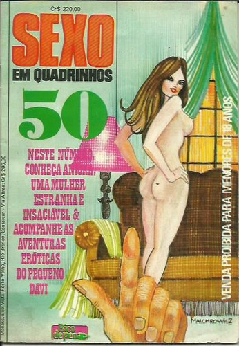 revista sexo em quadrinhos nº 50