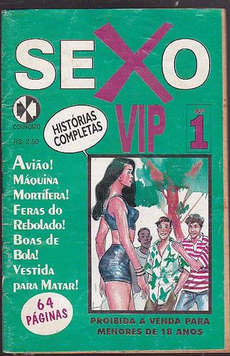 revista sexo vip numero 1 - editora confronto