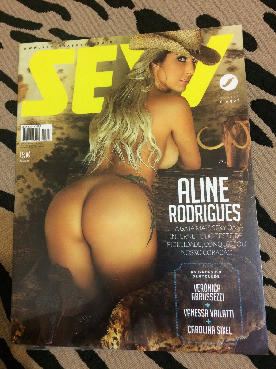 100 Photos of Aline Rodrigues Revista Sexy