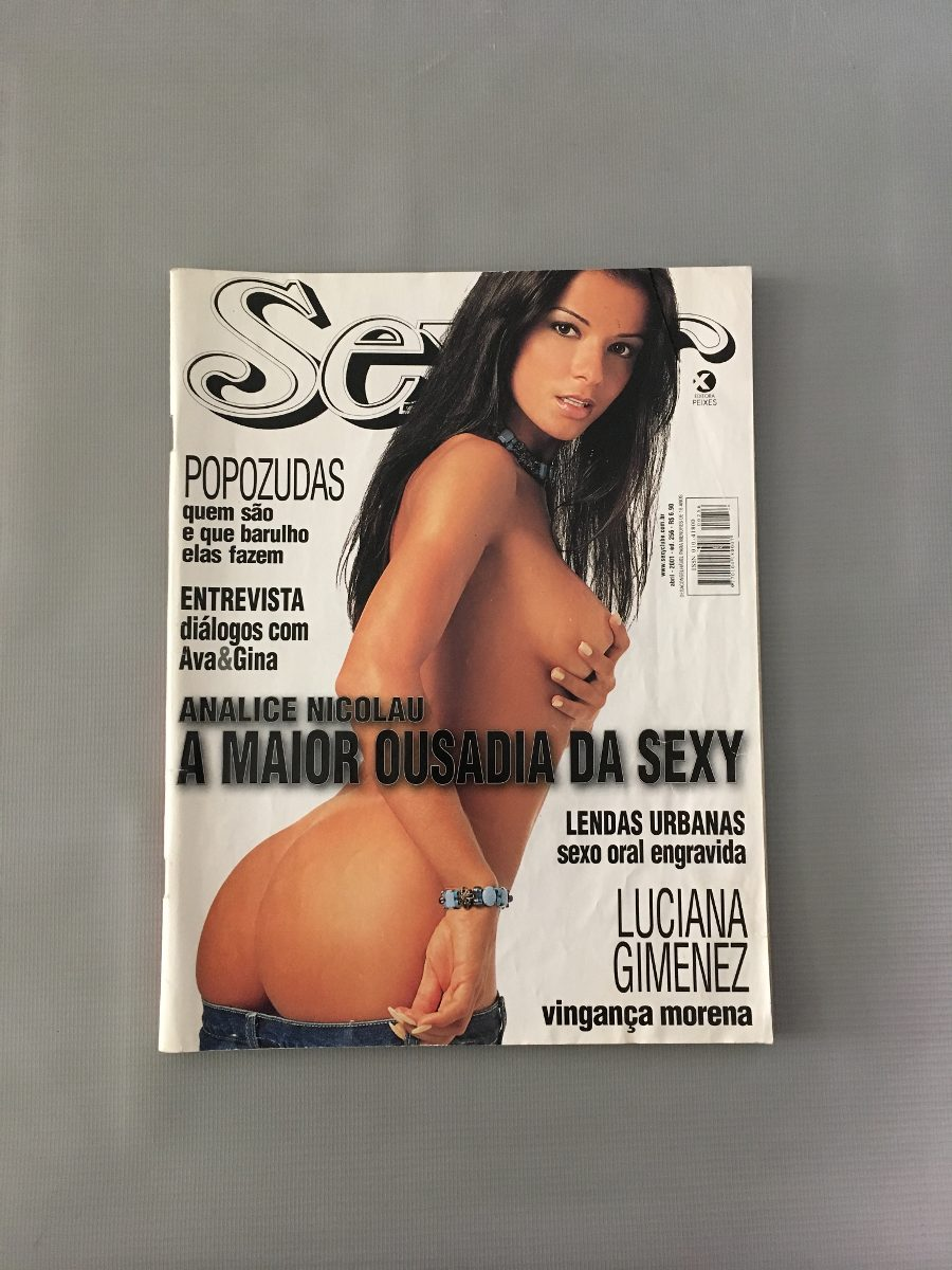 Analice Nicolau Fotos Sexy revista sexy ana alice nicolau - abril 2001 - nº 256