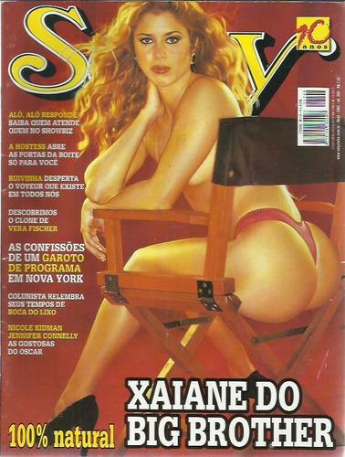 revista sexy xaiane do big brother ed. 268