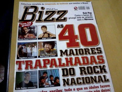revista showbizz nº191 as 40 maiores trapalhadas do rock