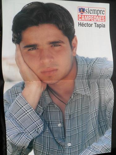 revista siempre campeones n° 21 poster hector tapia