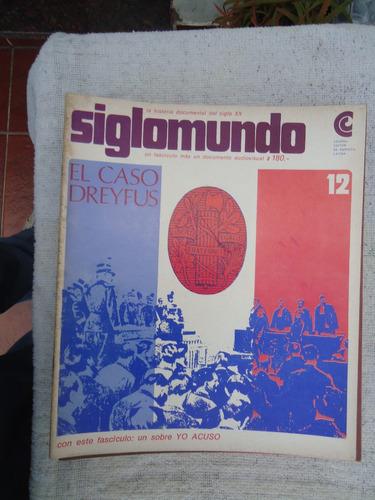revista siglomundo n° 12 - el caso dreyfus - ceal 1968