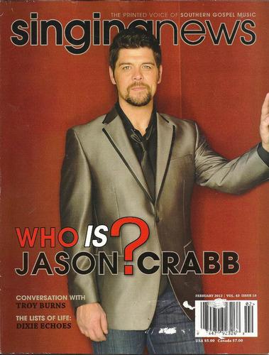 revista singing news: jason crabb / sharon kisor / hopper
