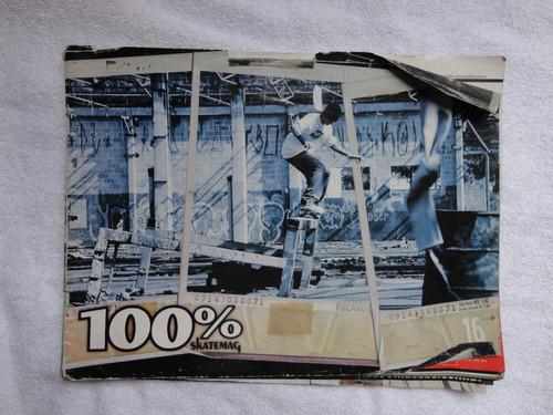 revista skate 100 % skatemag 65 páginas