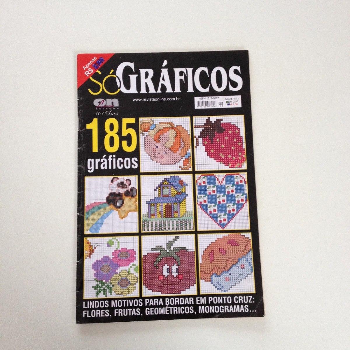 808ea1b21e revista só gráficos ponto cruz motivos flores frutas n°04. Carregando zoom.