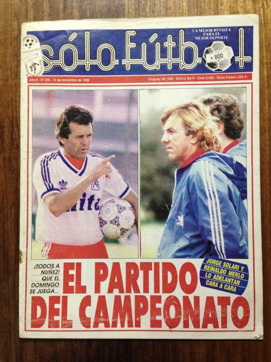 Revista Sólo Fútbol - Año 5 Nº 228- River E Independiente -   3.000 en  Mercado Libre 89a267e5a1035