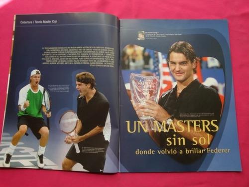 revista solo tenis n° 22 2004 poster argentinos en houston