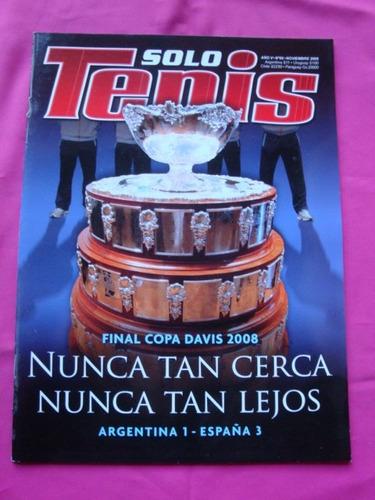 revista solo tenis n° 66 final copa davis 2008