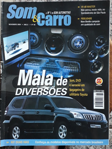 revista som e carro - novembro de 2004 - ano 9